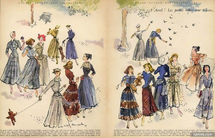 Raymond Baumgartner 1948 Bruyère, Jeanne Lanvin, Marcel Rochas, Jeanne Lafaurie, Véra Boréa, Hermès ....