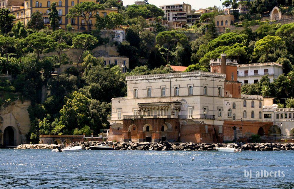 Villa Lauro, 1870's, Posillipo, Napoli Napoli, Villa, Città