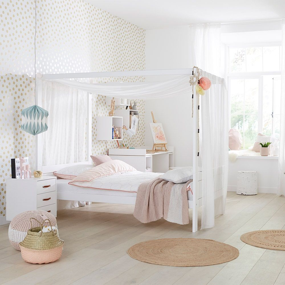 Rooms Go Bedroom Furniture Affordable Sofia Vergara Queen: Lifetime Dreams Four Poster Bed In 2020