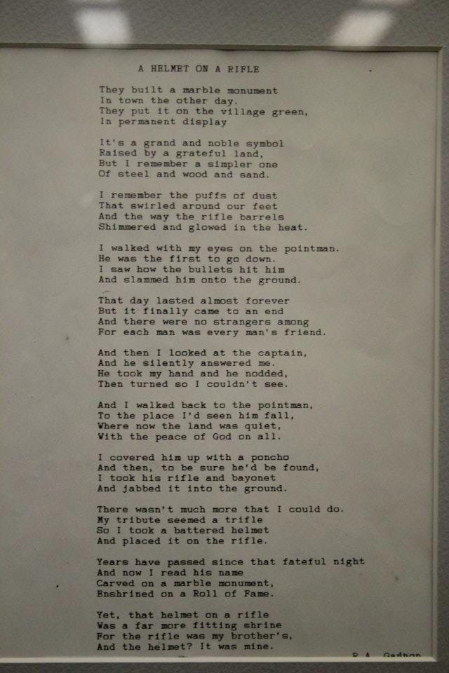 Lyric marine corps hymn lyrics : A Helmet on a Rifle - WWII - USMC - The Old Breed - Okinawa 1945 ...