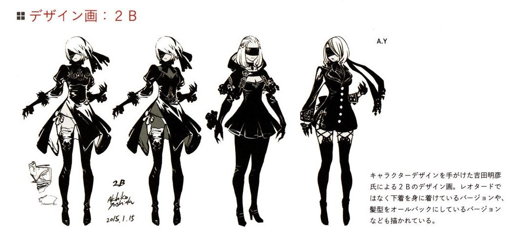 Character Design Nier Automata : Img nier pinterest automata concept art and