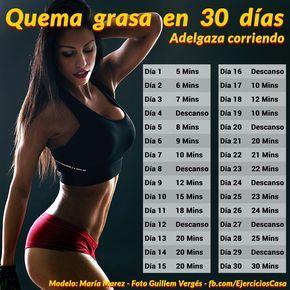Rutinas de ejercicios para bajar de peso corriendo con