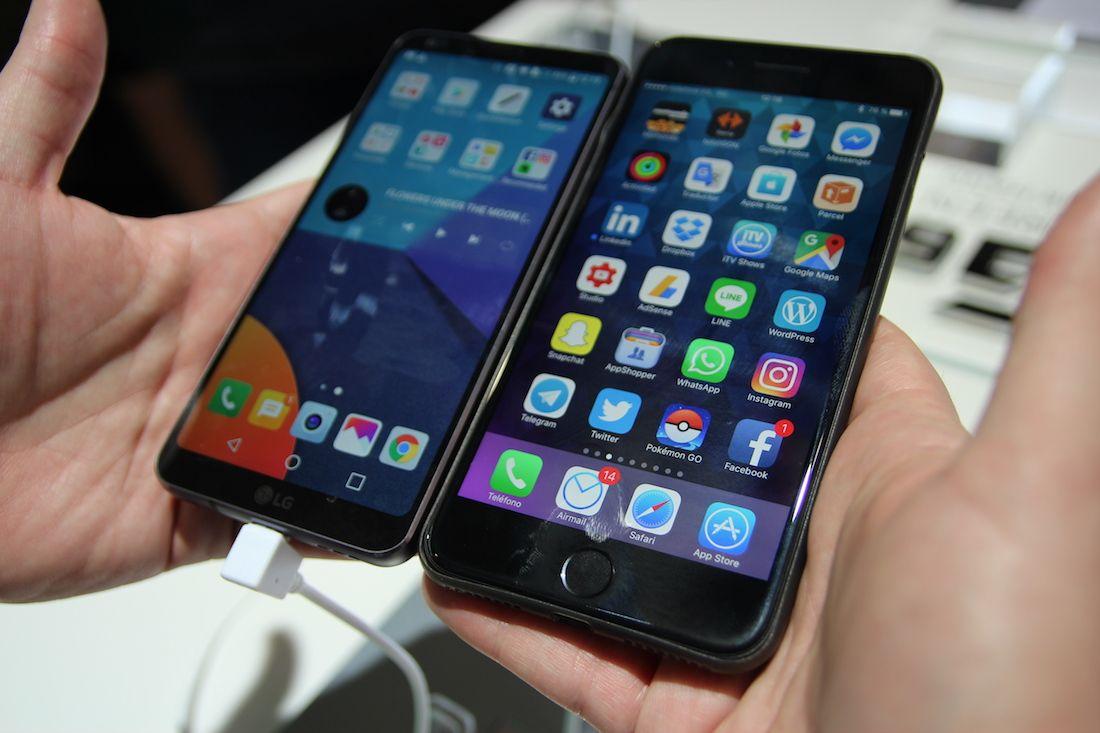 Nuevo LG G6 más pantalla en menos tamaño [MWC17] Iphone