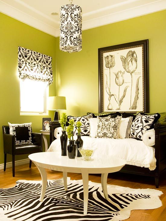 Wrong Green But We Like The Way Room Looks As A Whole No Animal Print