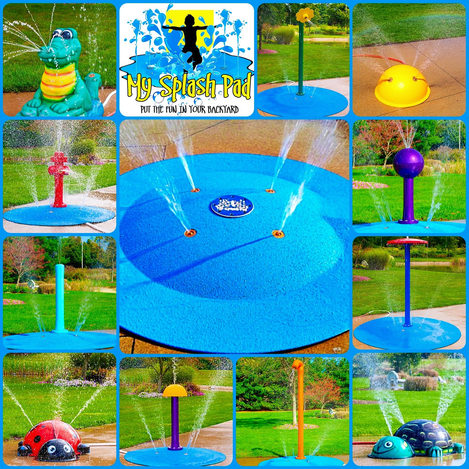 Our portable splash pad line is great for anyone in an ...