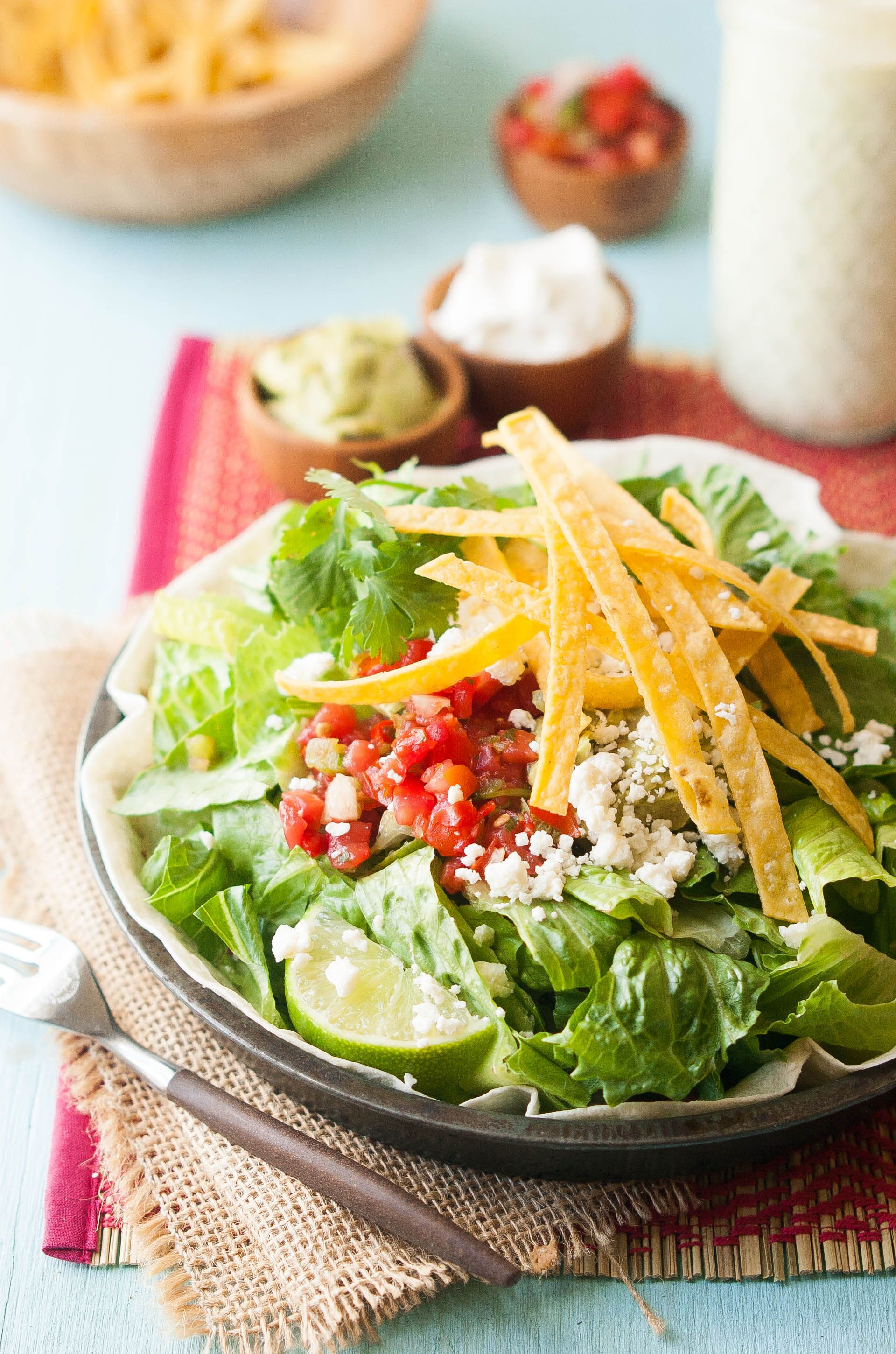 Cafe Rio Gluten-Free Pork Salad Recipe with Creamy ...