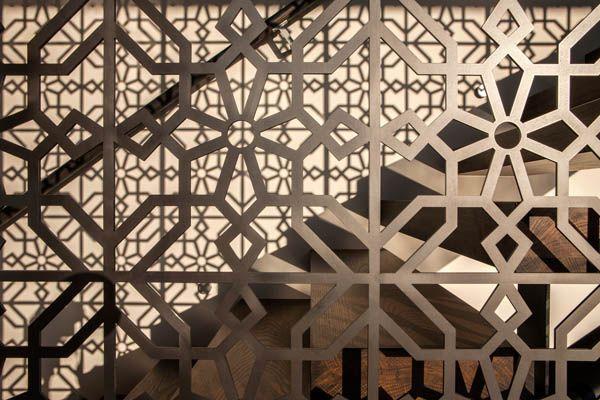 Modern House In New Zealand Godden Cres Lattice Screen Screen Design Decorative Screens