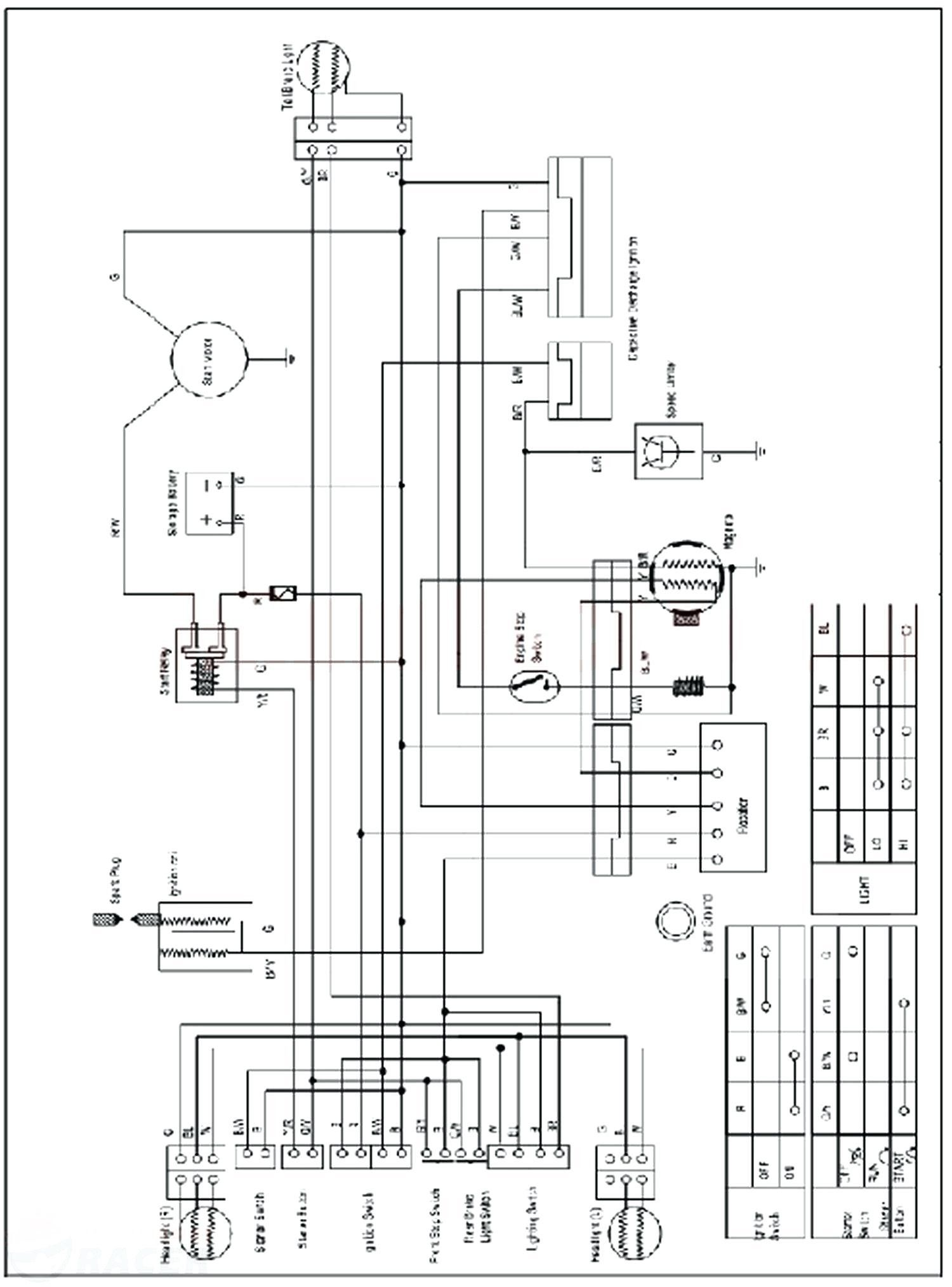 Zongshen Atv Wiring Diagram