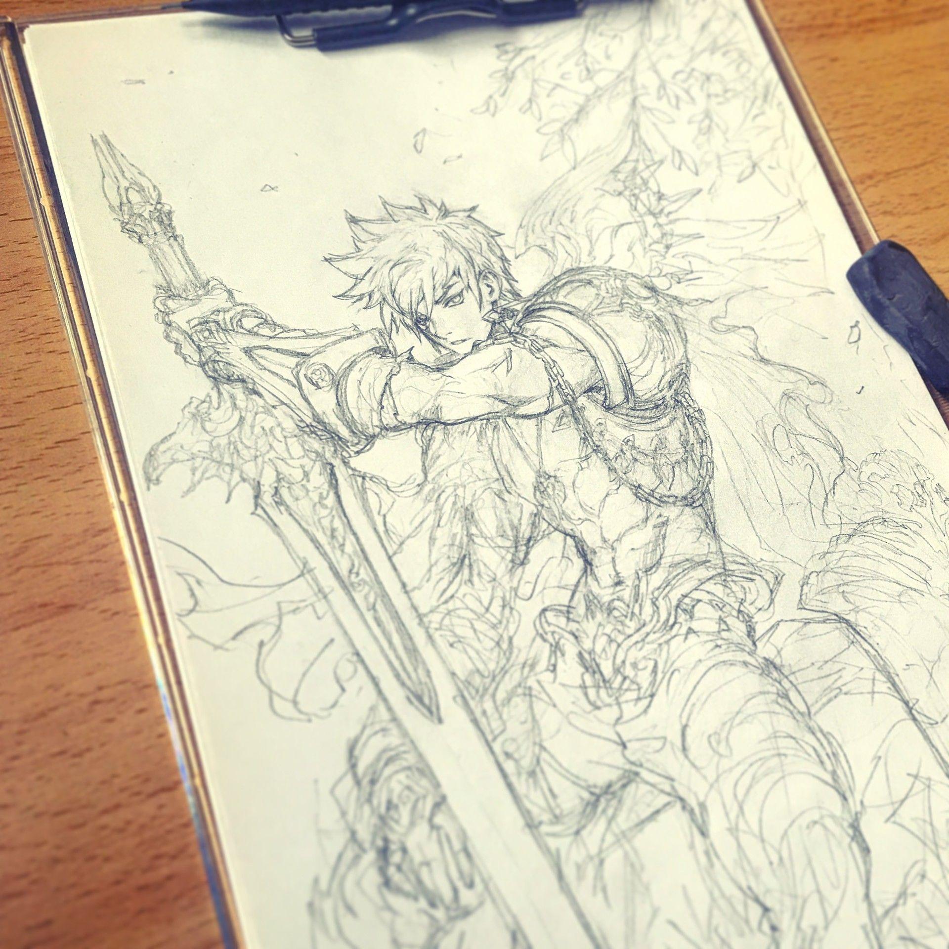 ArtStation - STATO / FANTASY character sketches , Stato Ozo