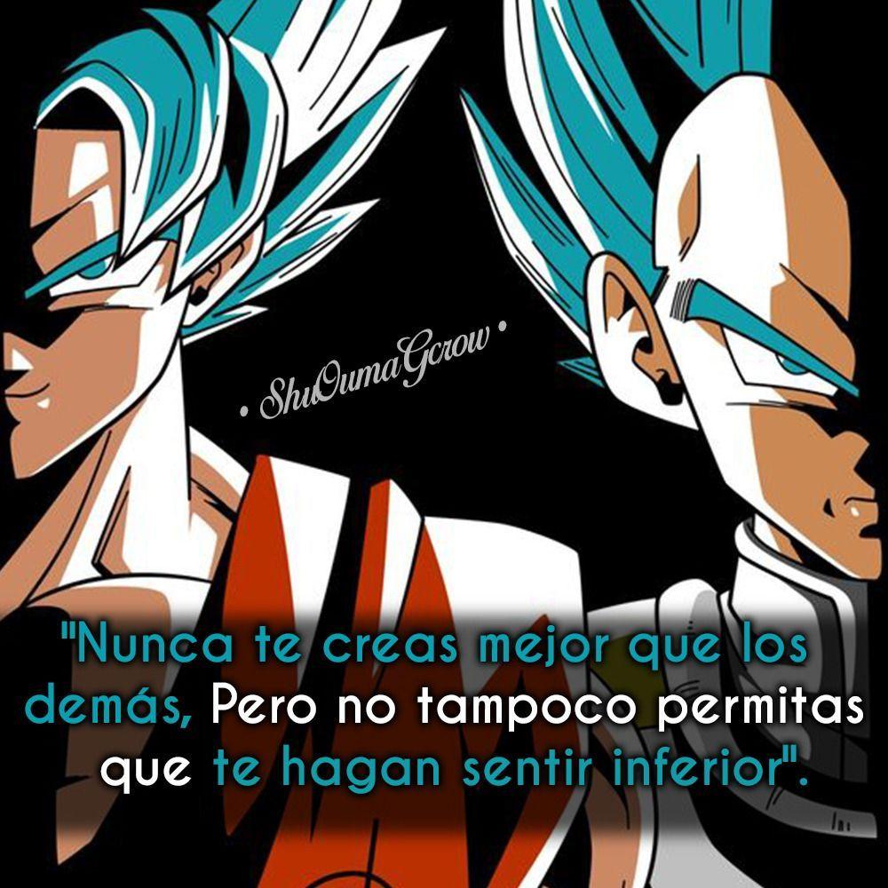 Frases De Goku Motivacion Buscar Con Google Frases Goku