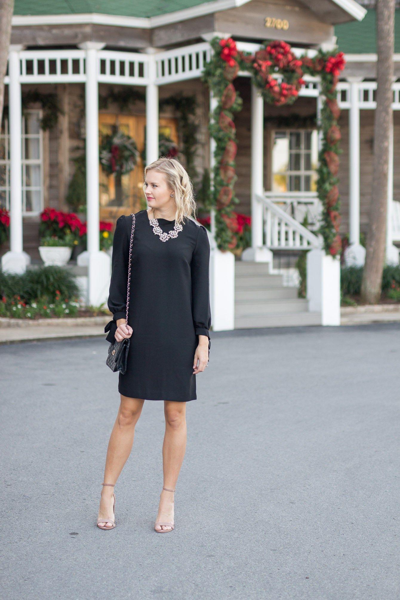 Exelent Black Christmas Party Dress Vignette - All Wedding Dresses ...