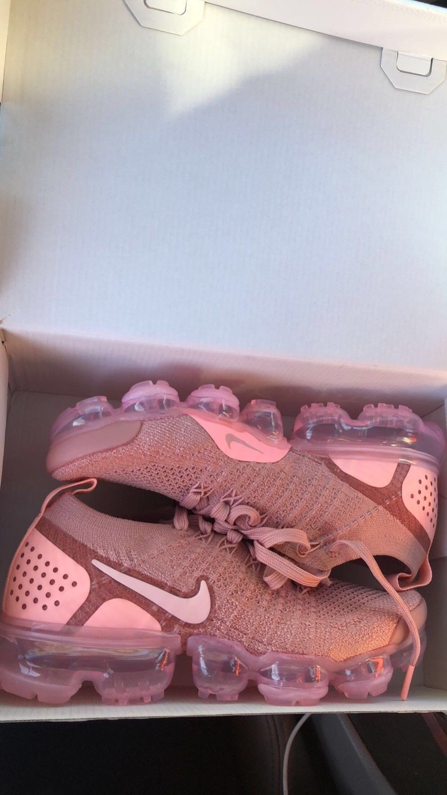 f415e31894 Details about Nike Air VaporMax Pink Flyknit 2 New Women's Shoes ...