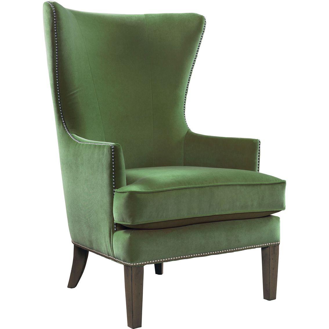 Best Bassett Whitney Accent Chair Green Armchair Accent 400 x 300