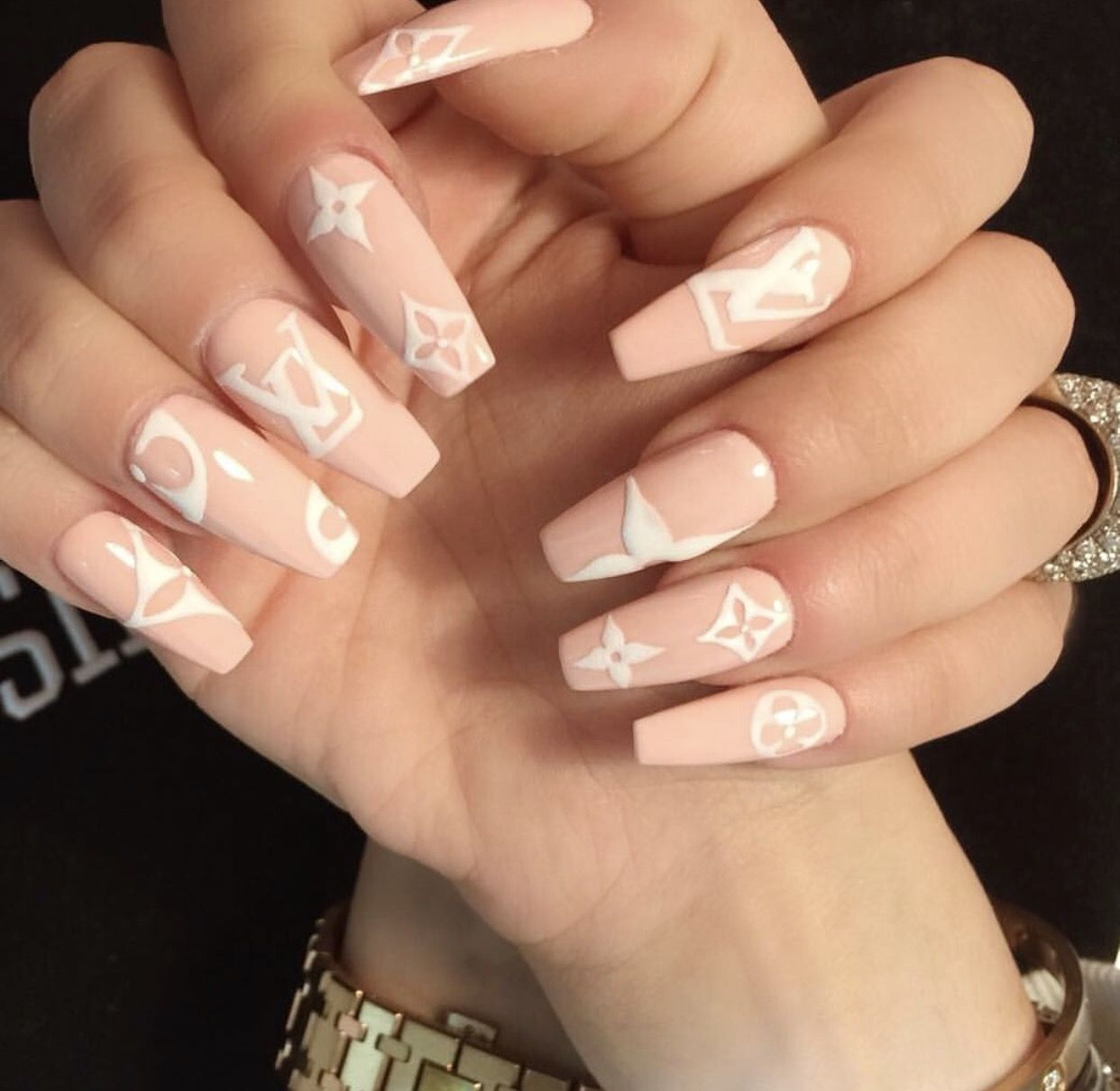 Pin By Vicky Sutandy On Nails Luxury Nails
