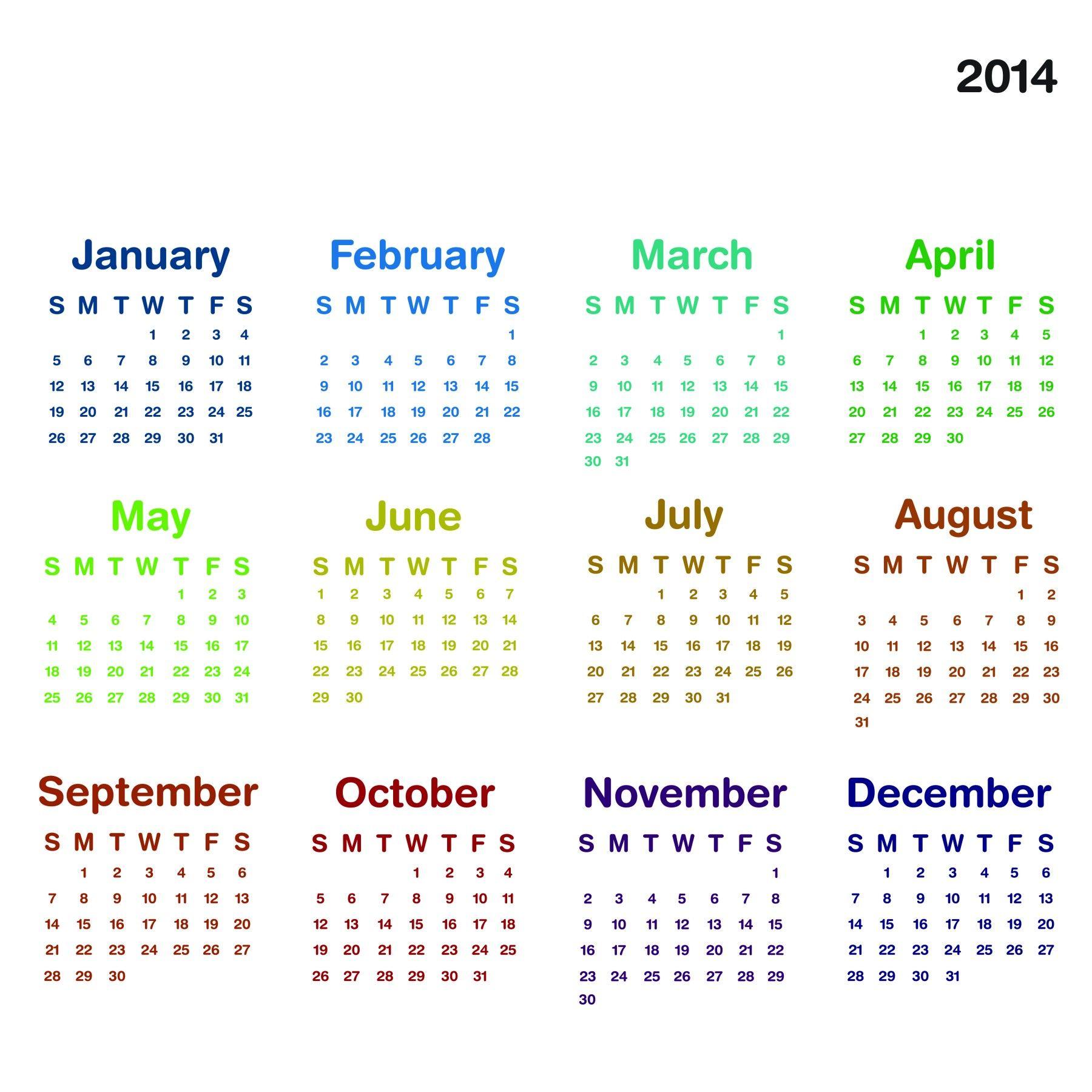 Print Free 2014 Calendar 2014 Calendar Printable 8 780x780 2014