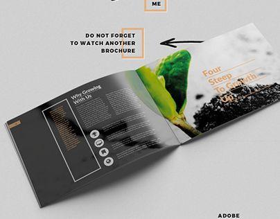 A Brand Brief Brochure Brochure Design Business Business
