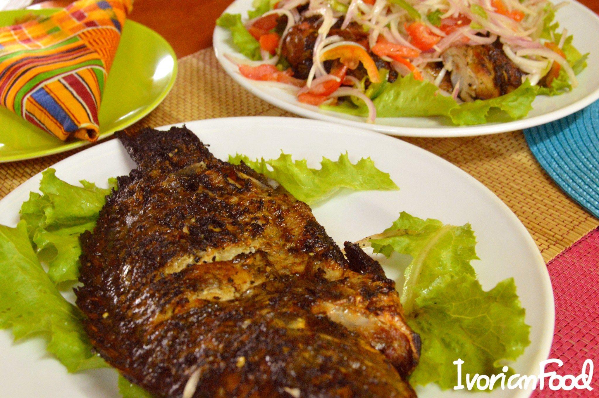 Poisson Braise Afrique Pinterest Poissons Cuisine Africaine