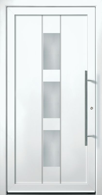 Contemporary and modern entry doors by Groke. A superior alternative to fiberglass steel or  sc 1 st  Pinterest & Contemporary and modern entry doors by Groke. A superior alternative ...