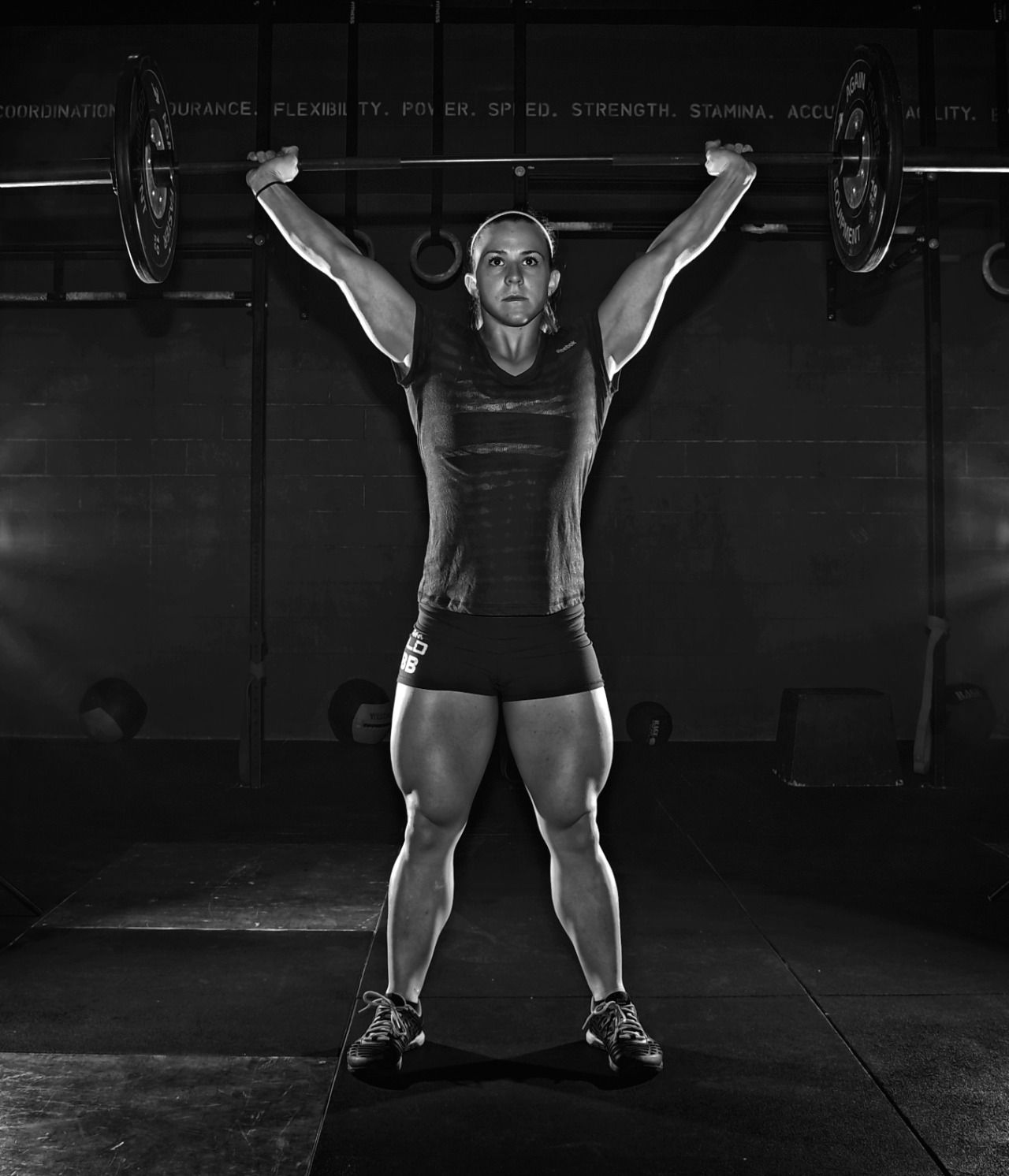 Lady Feral Photo Gym Images Garage Gym Crossfit Women