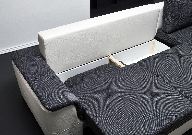 Schön Sofa Mit Schlaffunktion Und Bettkasten Foto Von - Ein Traum Für Das Auge Den