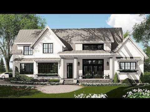 Modern Farmhouse Plan Rich With Features   14662RK | Architectural Designs    House Plans