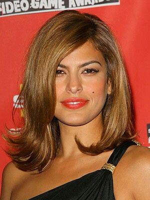 Eva Mendes Lob Eva Mendes Hair Medium Hair Styles Hair Lengths