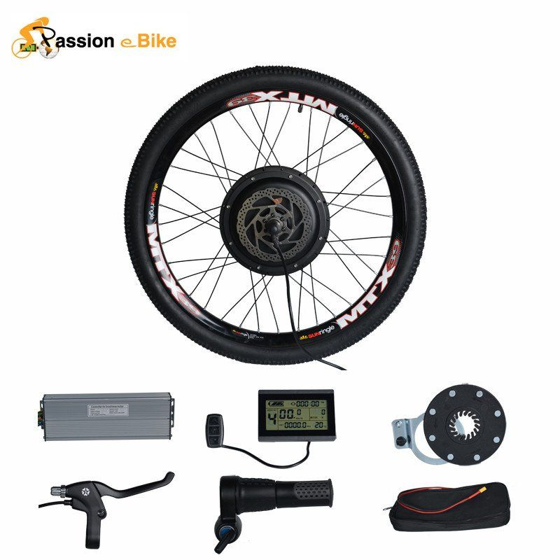 Asion Ebike Conversion Kit 48v Hub Wheel Motor 1500w Electric Bike