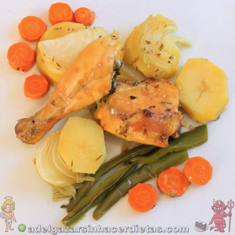 Receta saludable de pollo a la cerveza al horno baja en - Comidas sanas y bajas en calorias ...