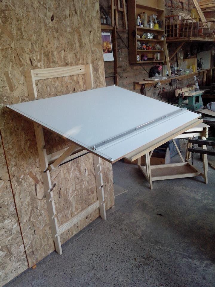 Mesa de dibujo plegable mesa de dibujo plegable regulable - Mesa regulable en altura ikea ...