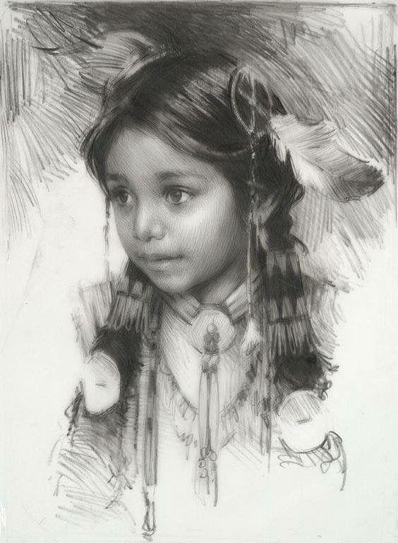 Image To De De Buddy Skip Native American Paintings