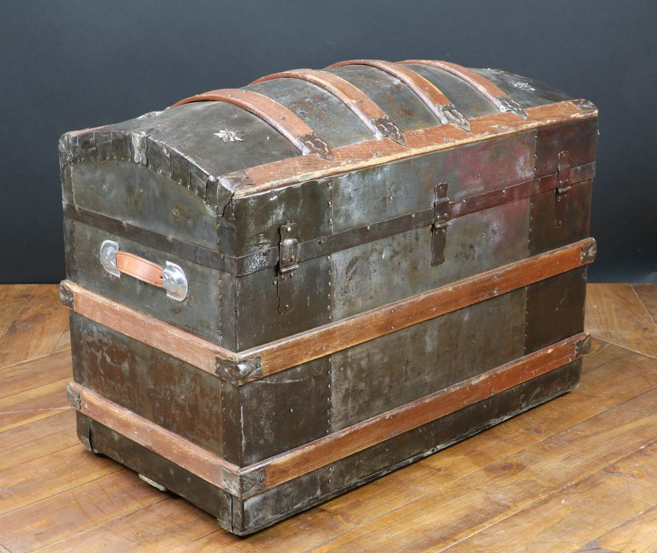 antique american curved trunk 1870 in 2020 outdoor on home depot paint sales this week id=32570