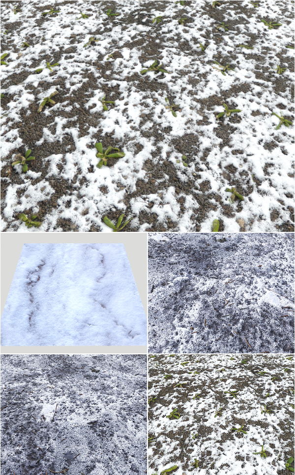 Snow Terrain Pbr Pack 10 Texture On Cubebrush Co Pbr Texture Terrain