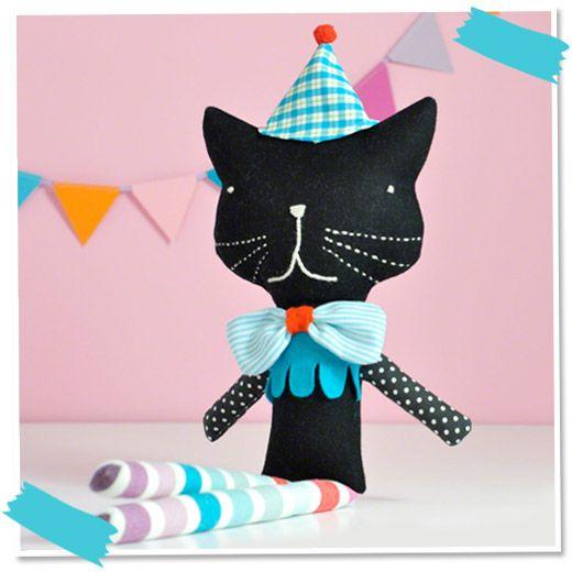 PinkNounou - Handmade Dolls, Toys, Softies