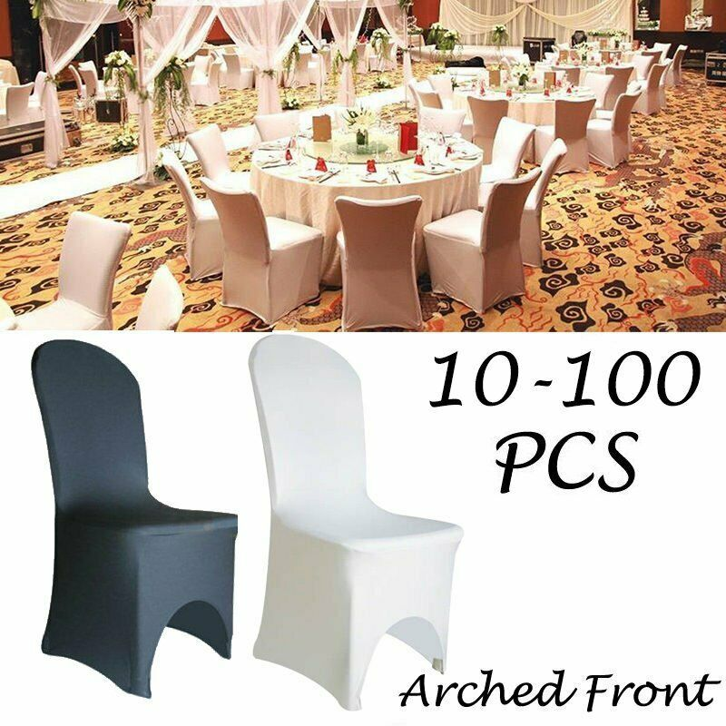 Polyester Spandex Folding Chair Cover Flat Covers Wedding Party Banquet Decor A+ Venue Decorations