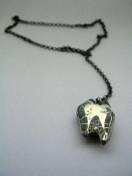 Caterina Hallzon, Elk Tooth Necklace