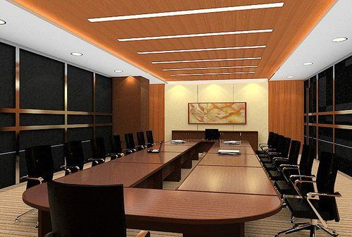 Interior Design Conference office space for rent in bangalore. locate commercial office space
