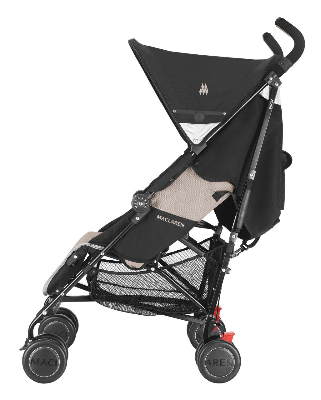 Maclaren Quest Sport Buggy Black/Champagne buggy