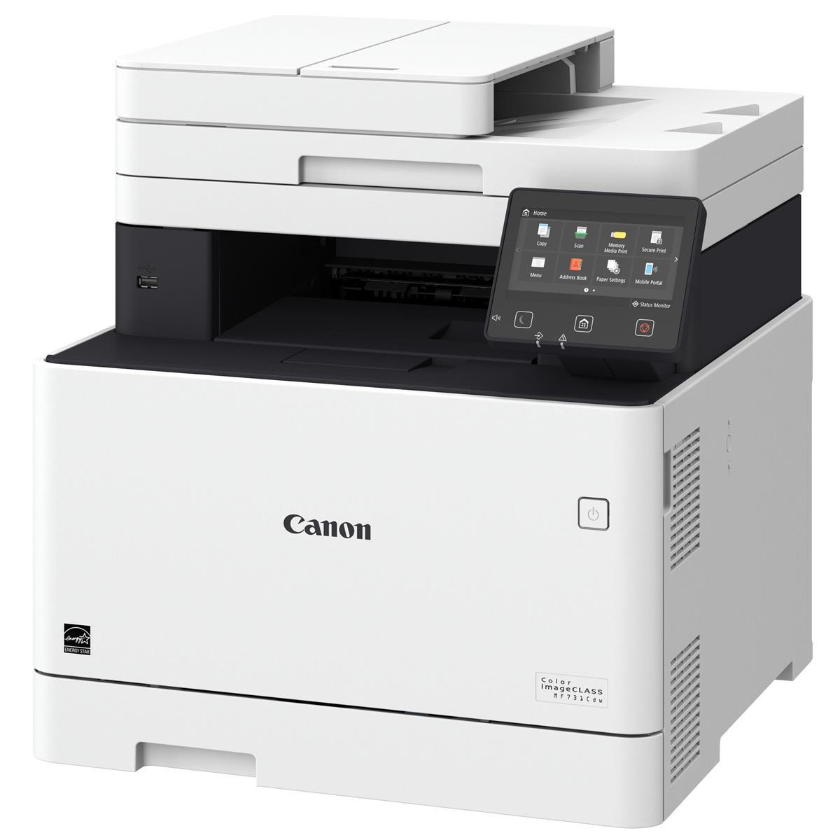 Canon Color imageCLASS MF731Cdw 3-in-1 Wireless Duplex Laser