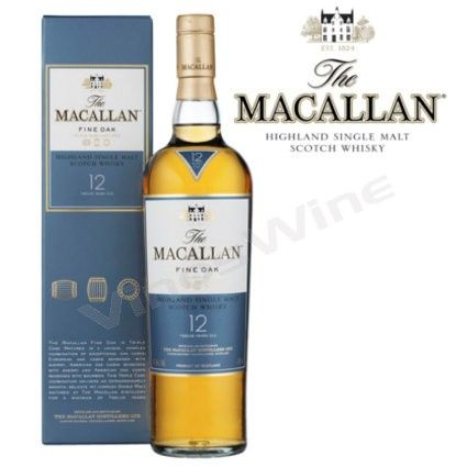 Macallan 12 Anos Fine Oak Whisky En 2020 Whisky Botellas