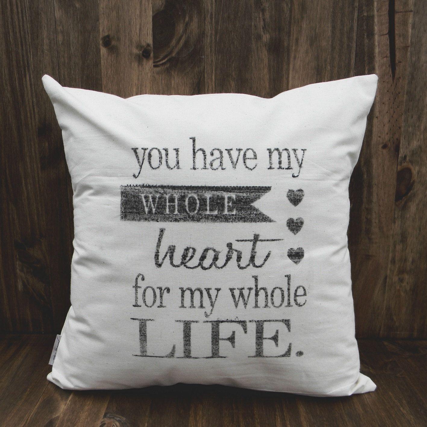 My Whole Heat 16 x 16 Pillow