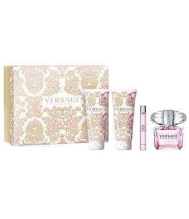 Available At Dillards Com Dillards Versace Bright Crystal Crystal Gifts Fragrance Set