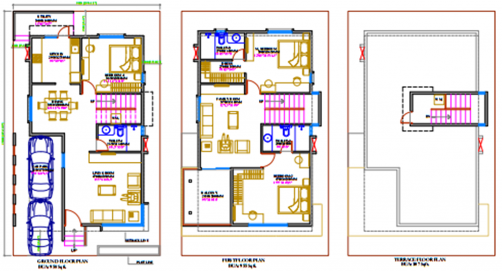 Tamilnadu house plans north facing for House plan for 20x40 site