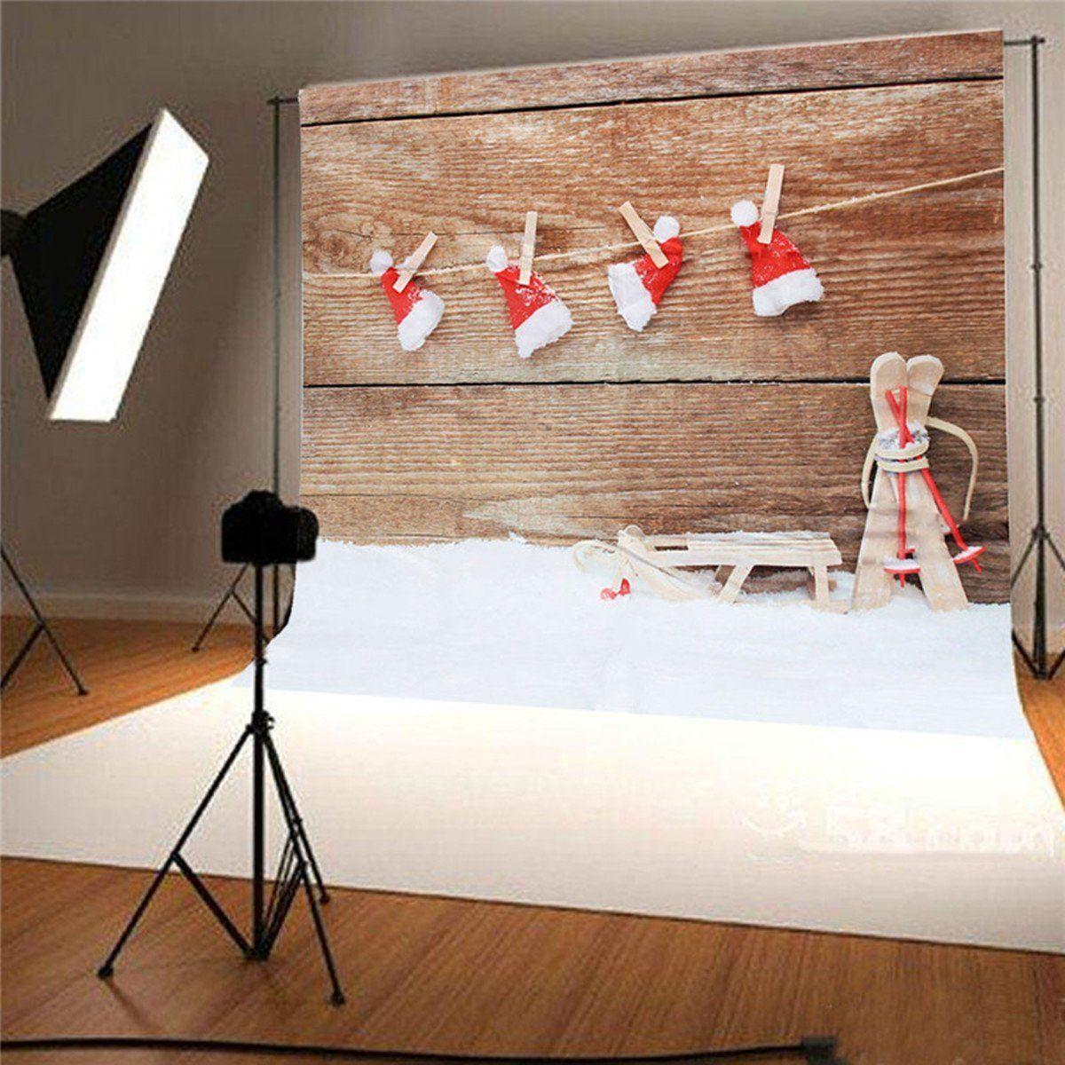 King Do Way Hintergrund Weihnachts Fotografierte Stoffhintergruende