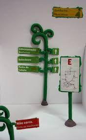 Resultado de imagem para sinalização parque