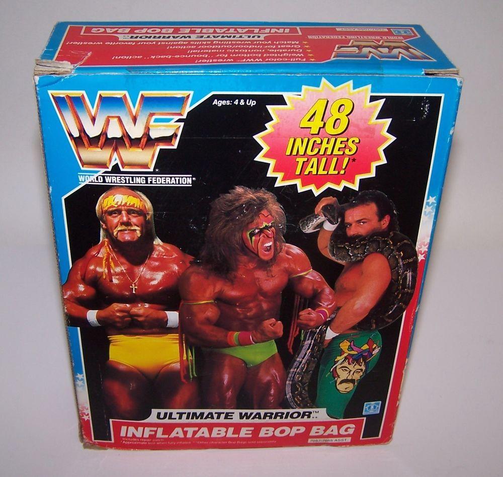 NEUF WWF World Wrestling Inflatable Battlin /'Bop Sac Undertaker par Toy Island 4