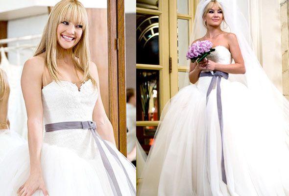 Vestido de Kate Hudson en Guerra de novias #EasyNip   Going to the ...