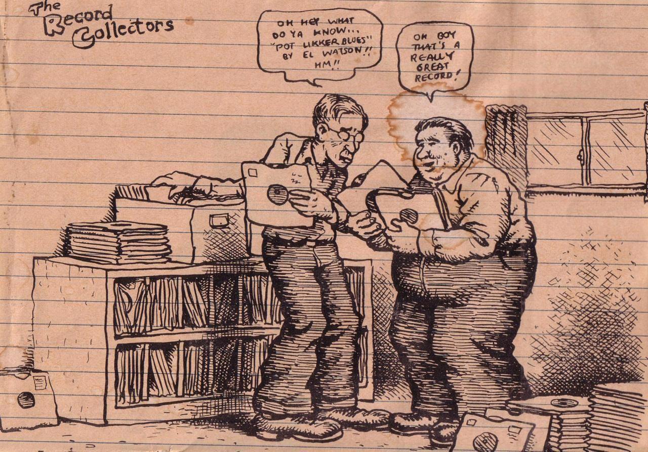 Robert crumb record collection comics