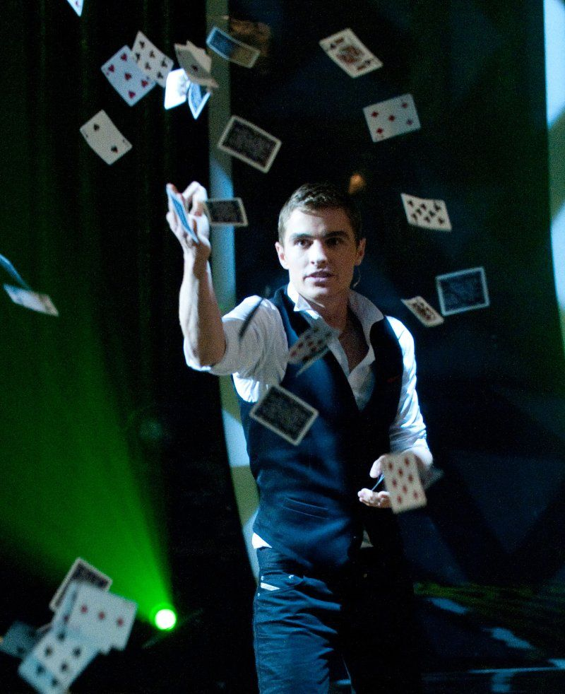 Dave Franco in Now You See Me didn't realize that was him. Loved this movie