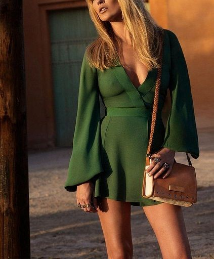 bag, beautiful, blonde, clothes, cute