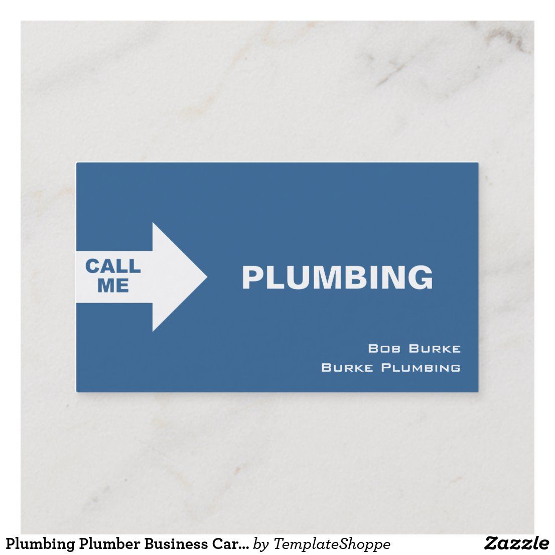 Plumbing Plumber Business Cards Zazzle Com In 2020 Plumber Plumbing Contractor Plumbing